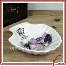 New type ceramic shell soap dish